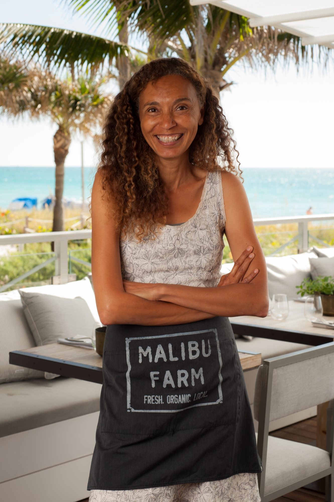 Helene Henderson, owner of Malibu Farm in Miami