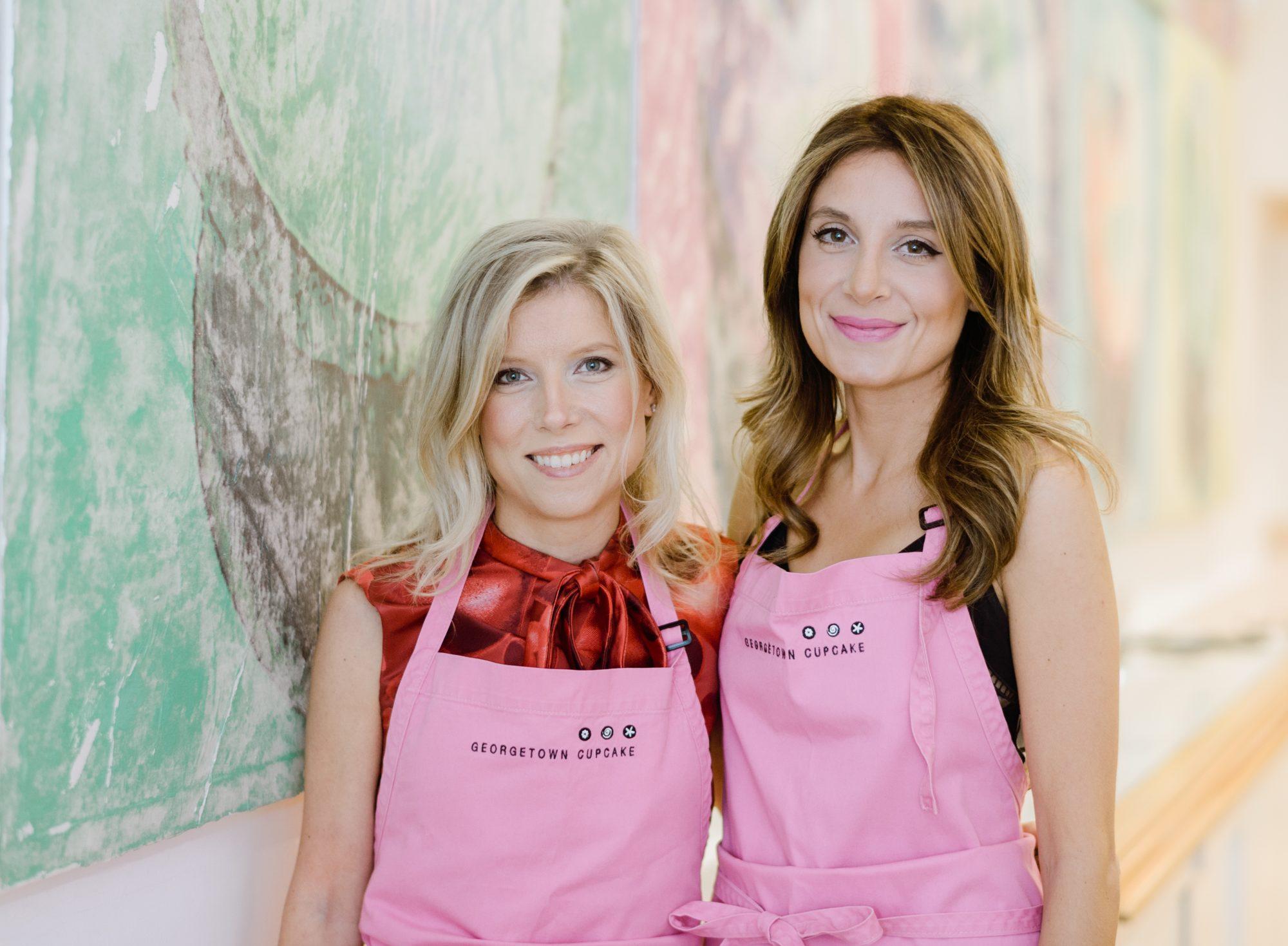 Sophie Kallins and Katherine Berman, owners of Georgetown Cupcakes in Washington, D.C.