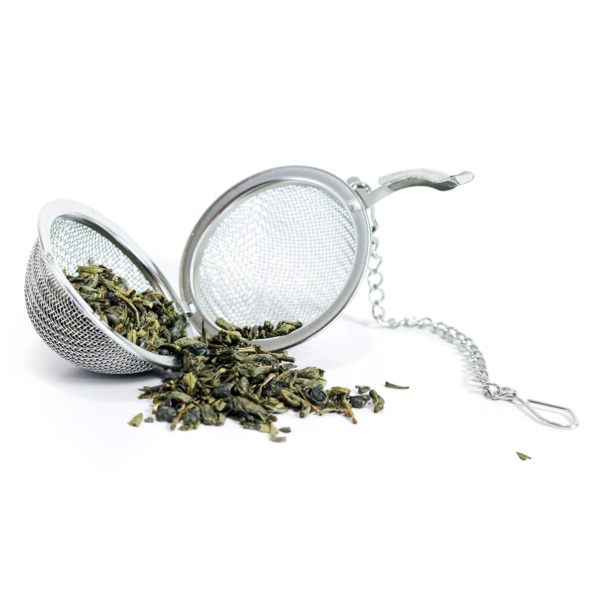 the green stuff tea leaves