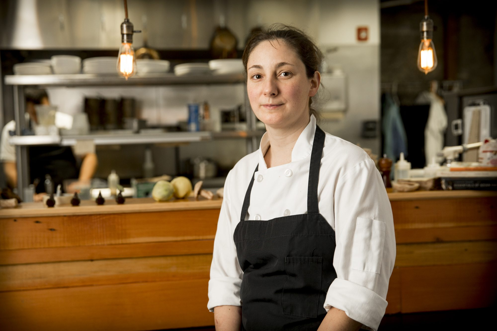 Sarah Pliner, owner and chef at Aviary