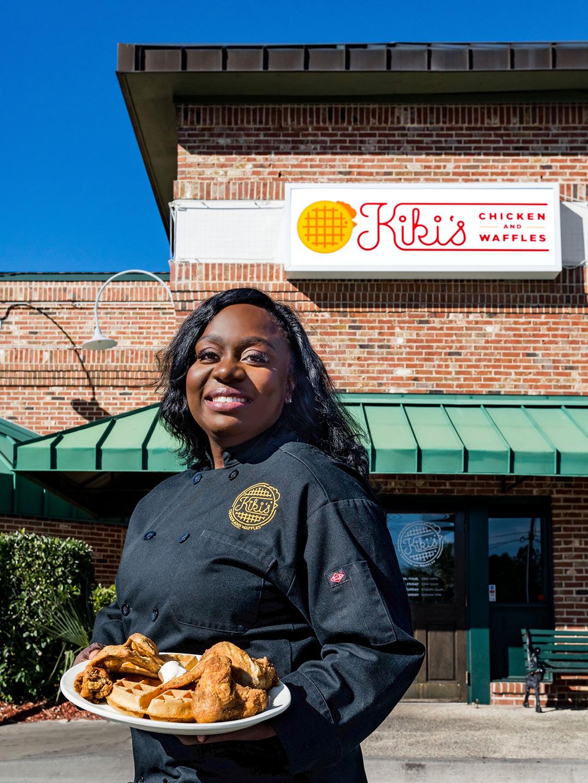 Kiki's Chicken and Waffles outside shot