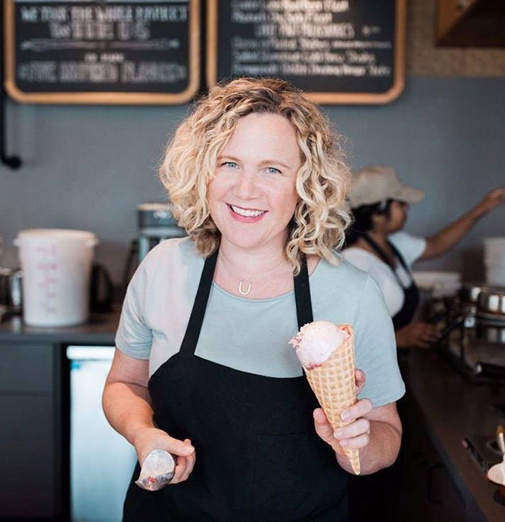 Kim Malek, CEO and co-founder at Salt & Straw