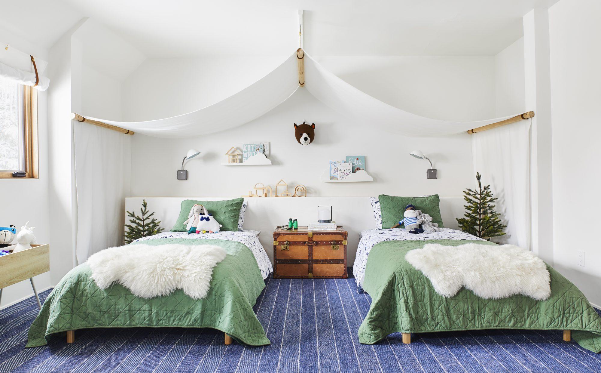 Emily Henderson Mountain Pillowfort Kids Room7