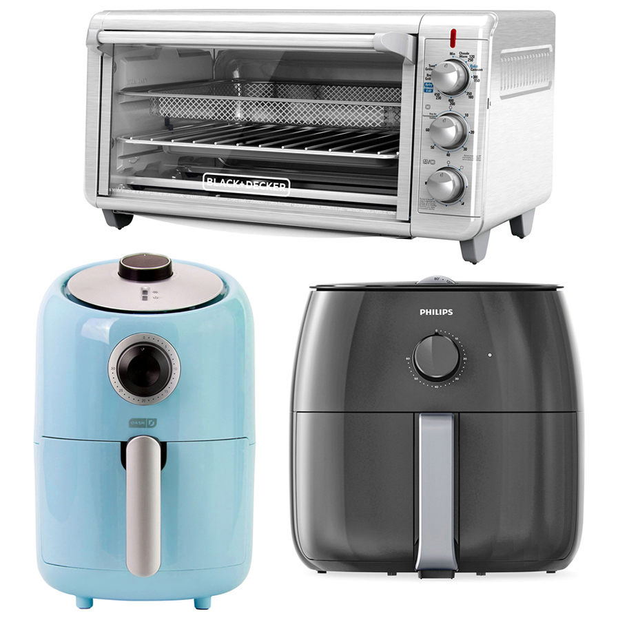 black and decker dash and philips air fryers