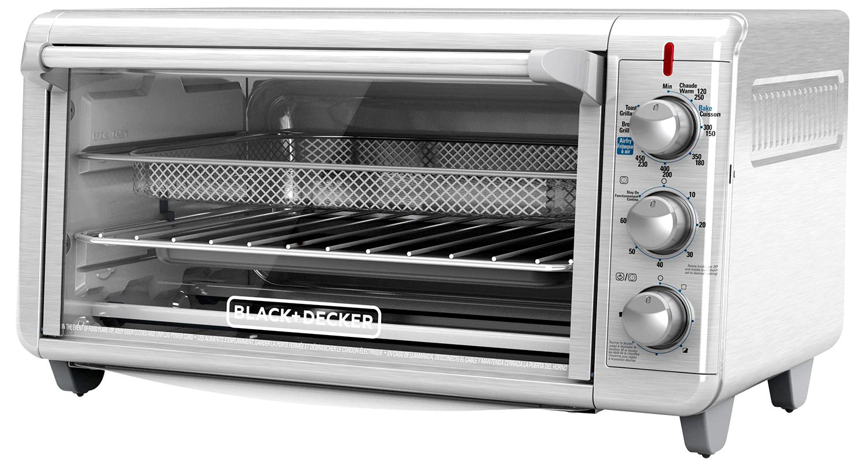 black and decker crisp n bake air fry toaster oven