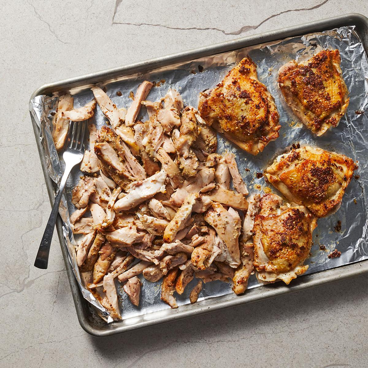 garlic and coriander roasted chicken
