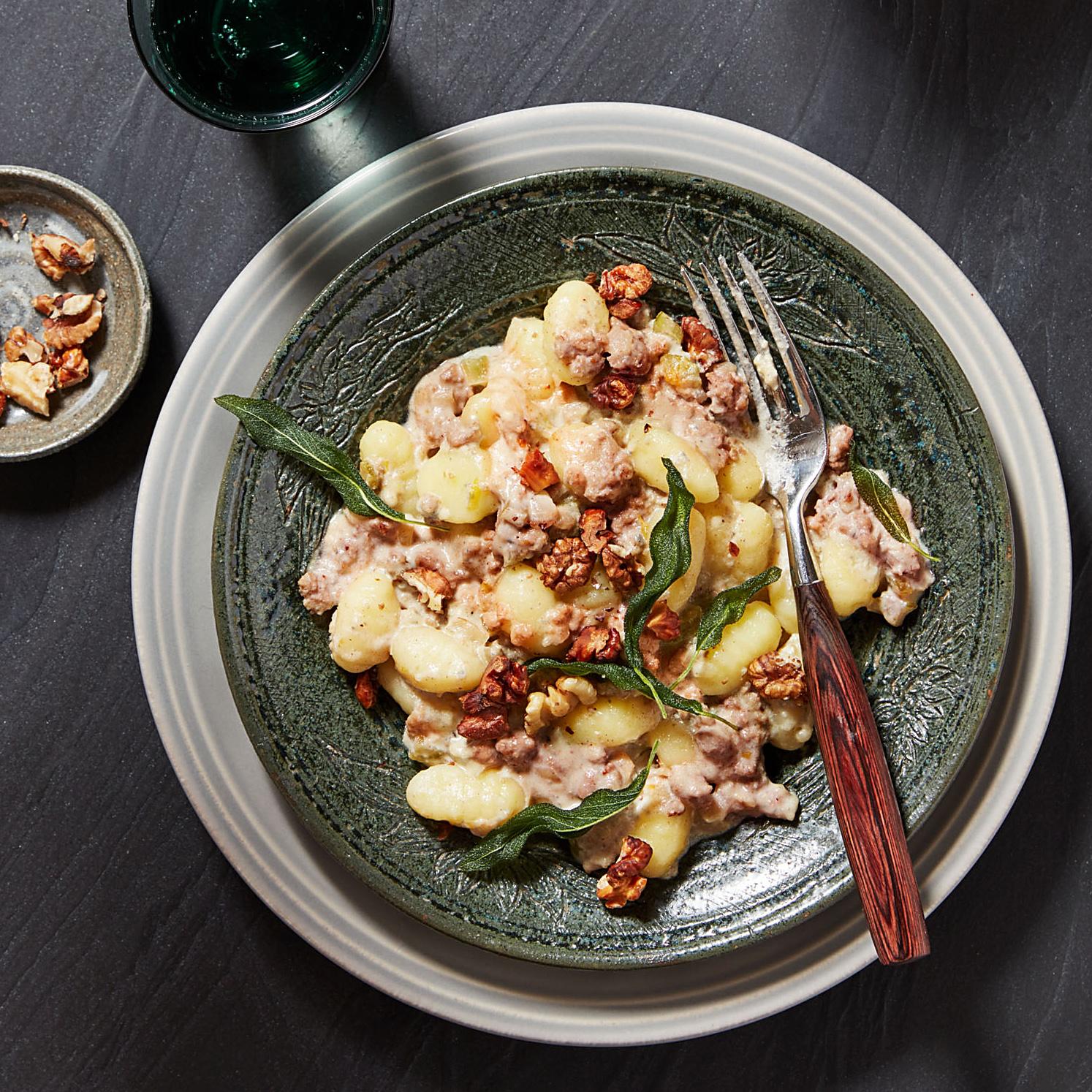 Gnocchi with Velvety Veal Ragu