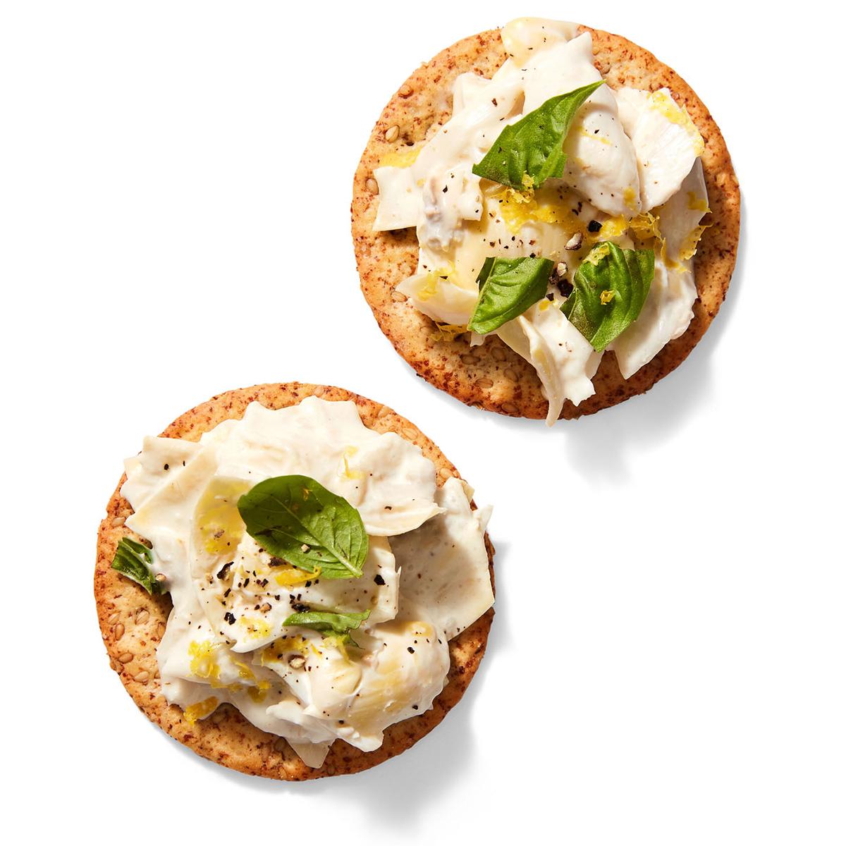 Creamy Crab & Artichoke Bites