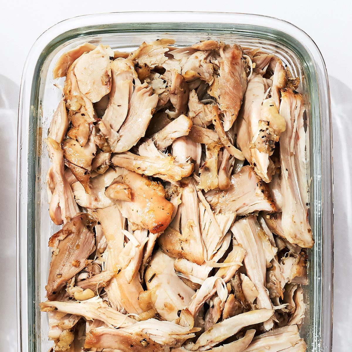 Garlic & Coriander Roasted Chicken Thighs