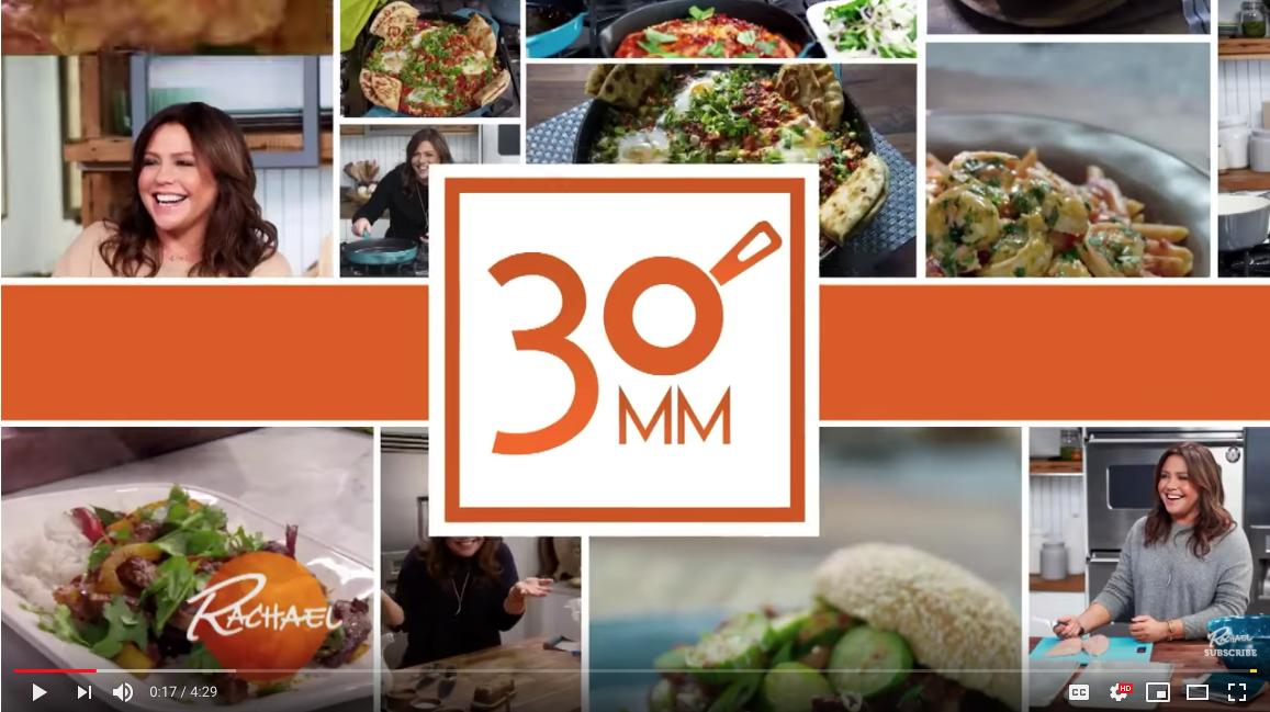 Behind the Scenes of Rach's 30 Minute Meals reboot