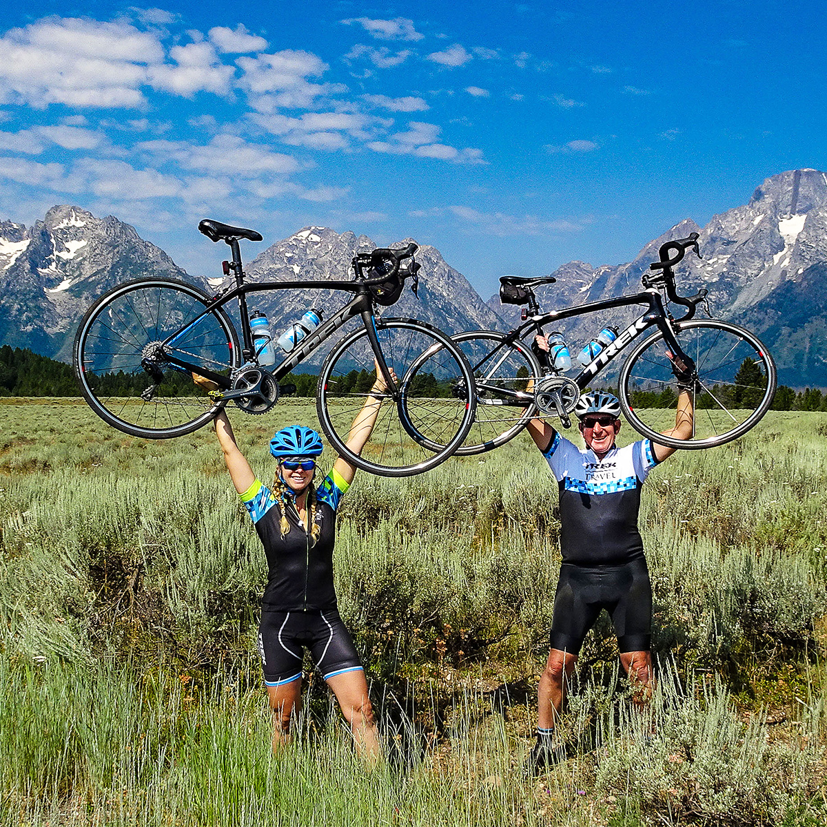 trek travel biking vacation
