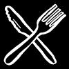 knife and fork illustration