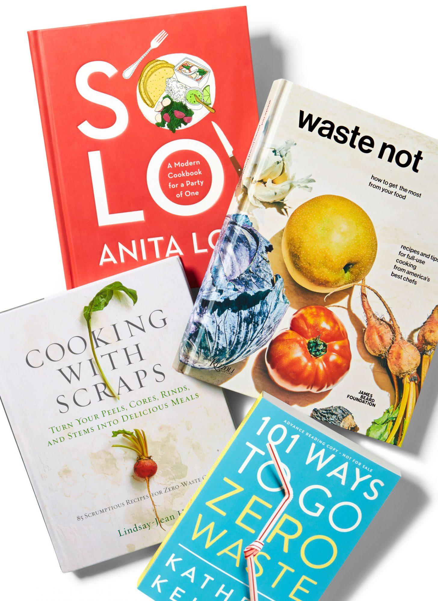 reduce food waste cookbooks