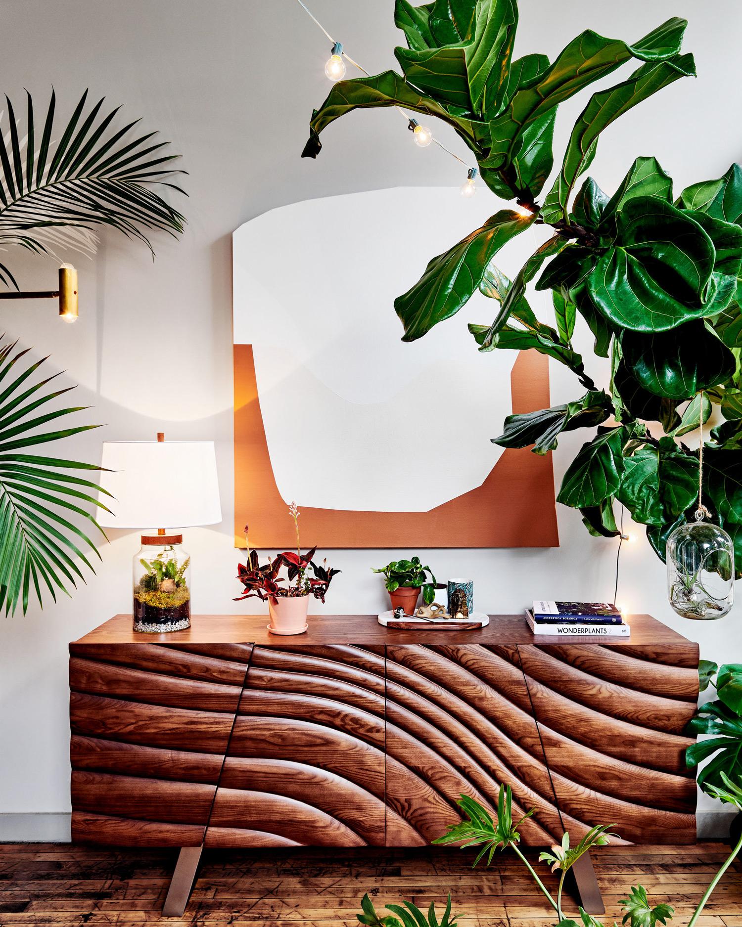 creative plant container arrangement glass lamp terrarium