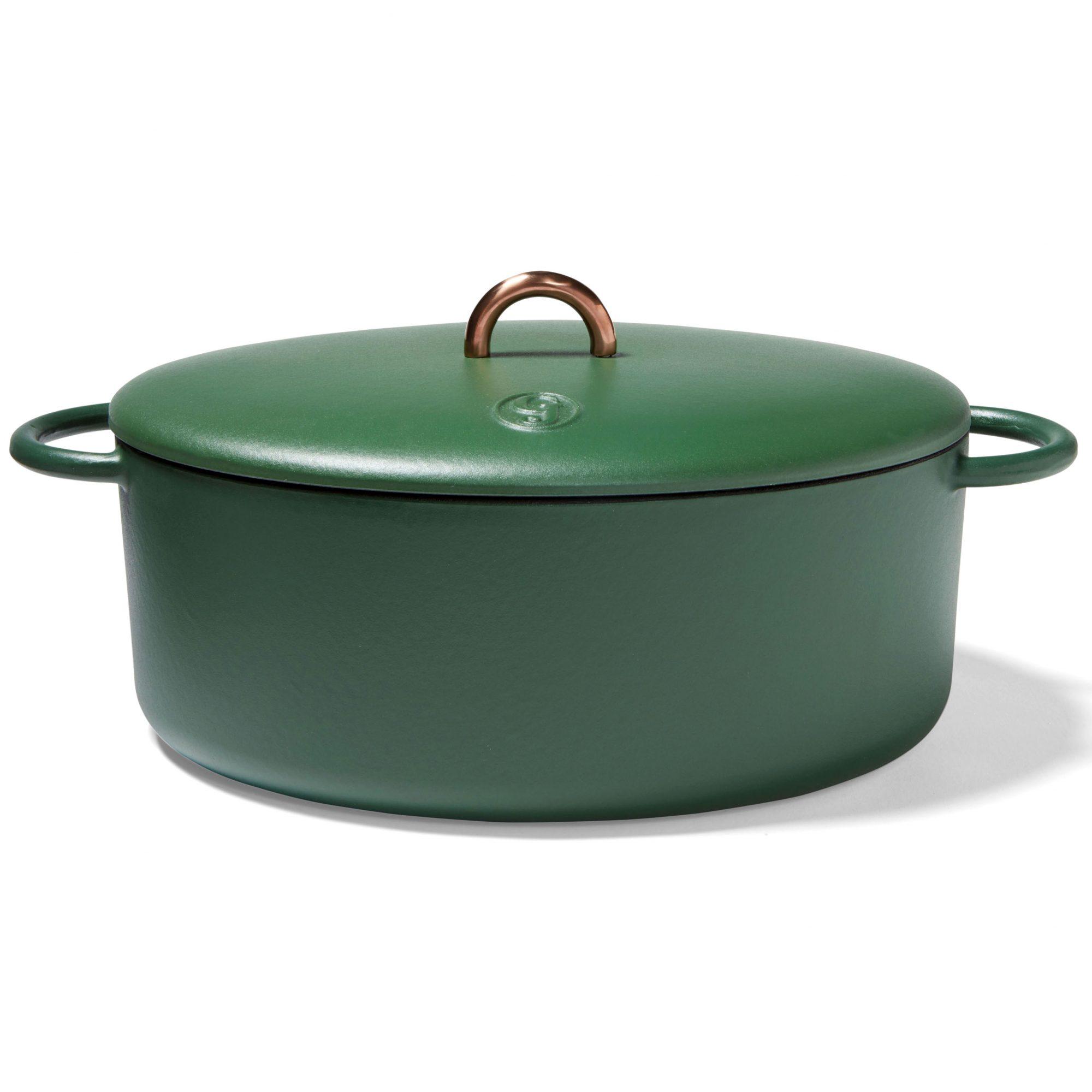 green cast-iron Great Jones Dutchess