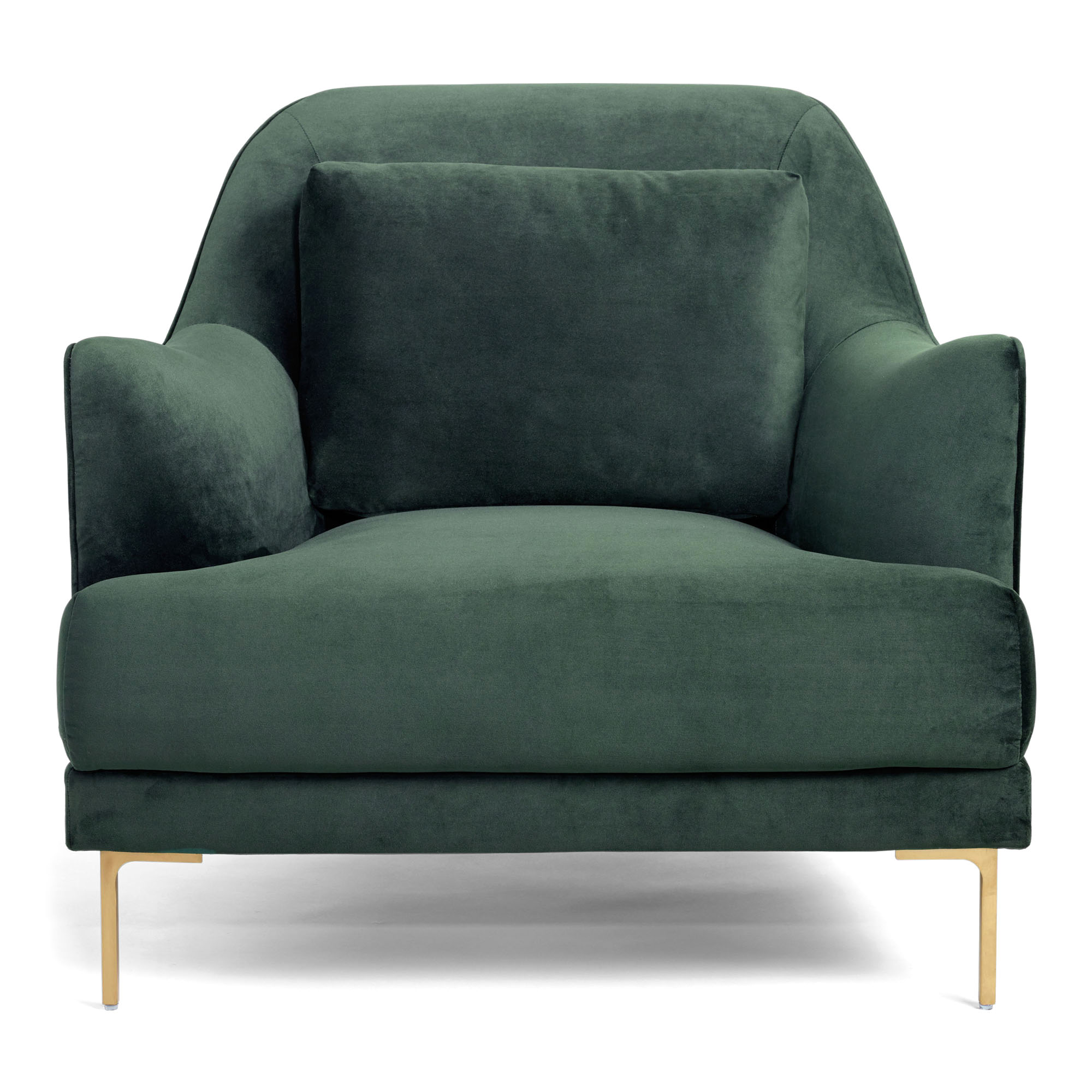 green velvet samara chair