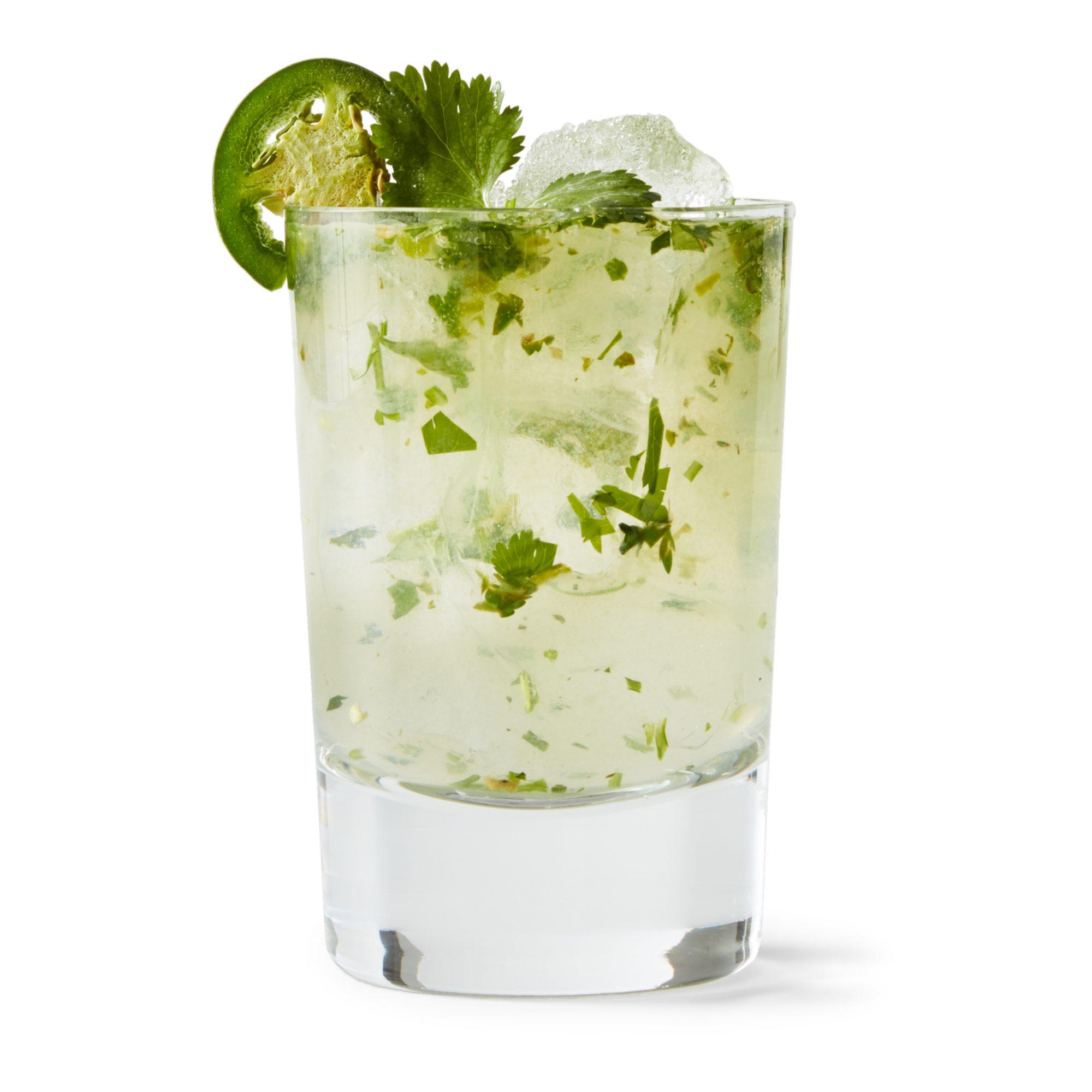 jalapeno citrus rickey cocktail