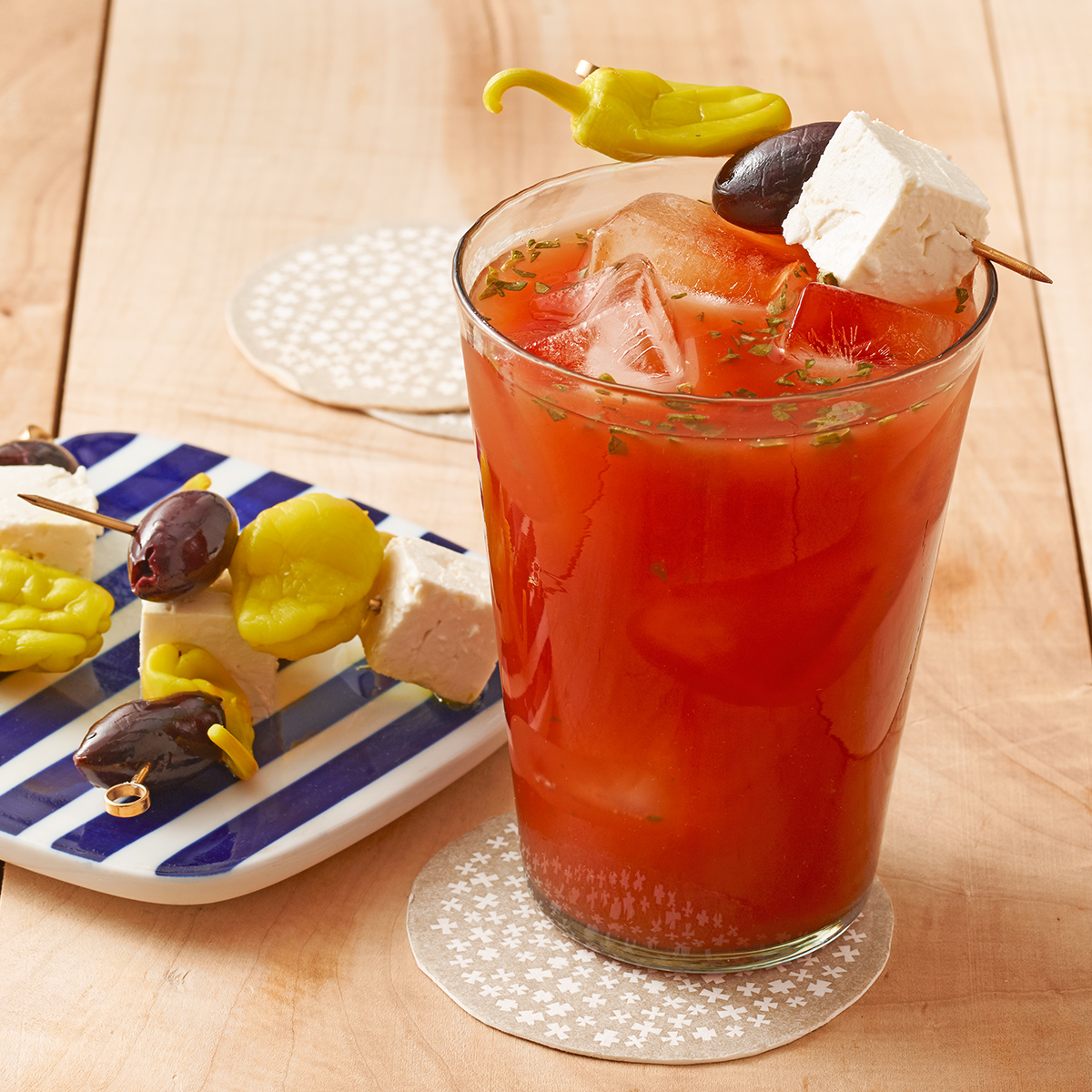 Mediterranean Bloody Mary