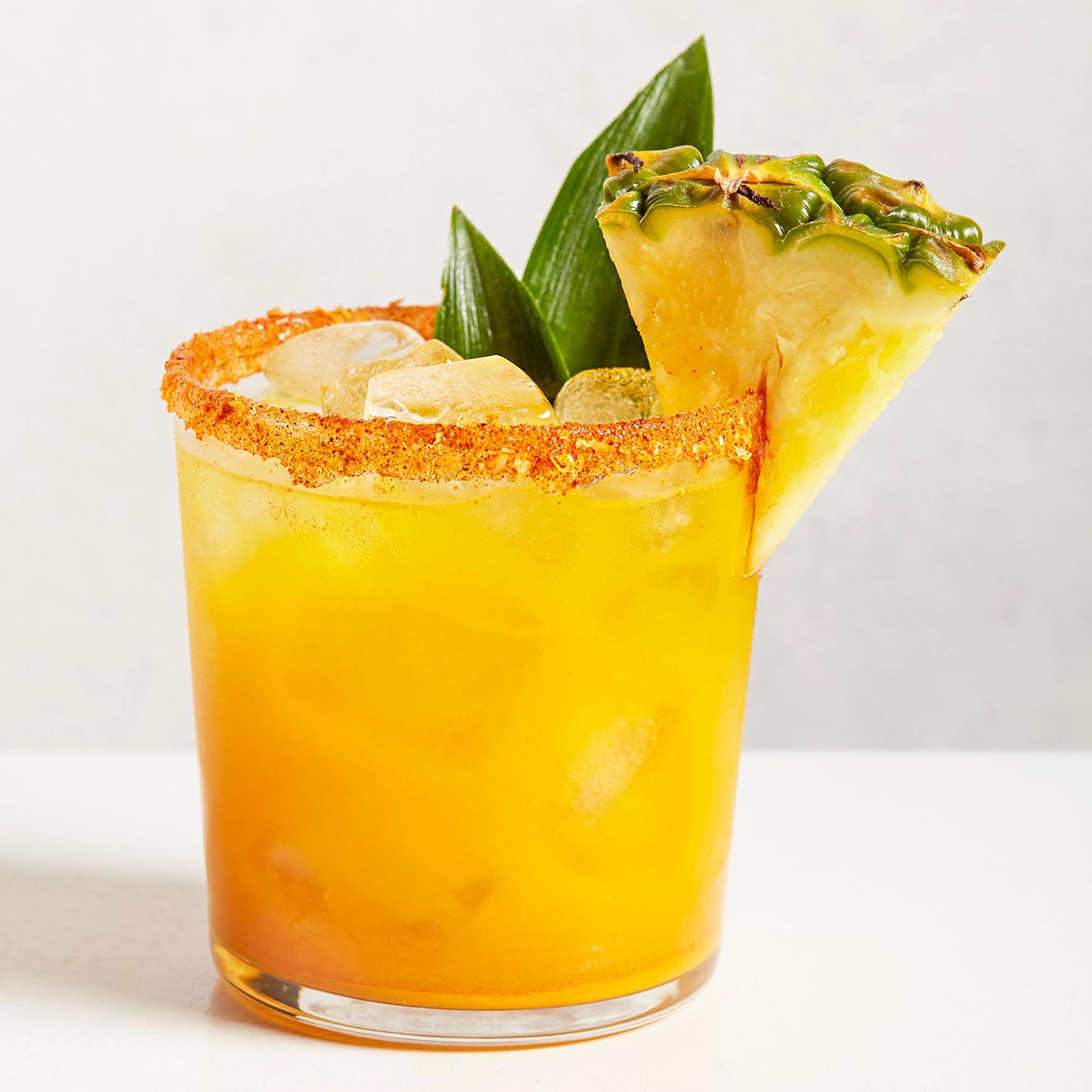 pineapple and turmeric margarita