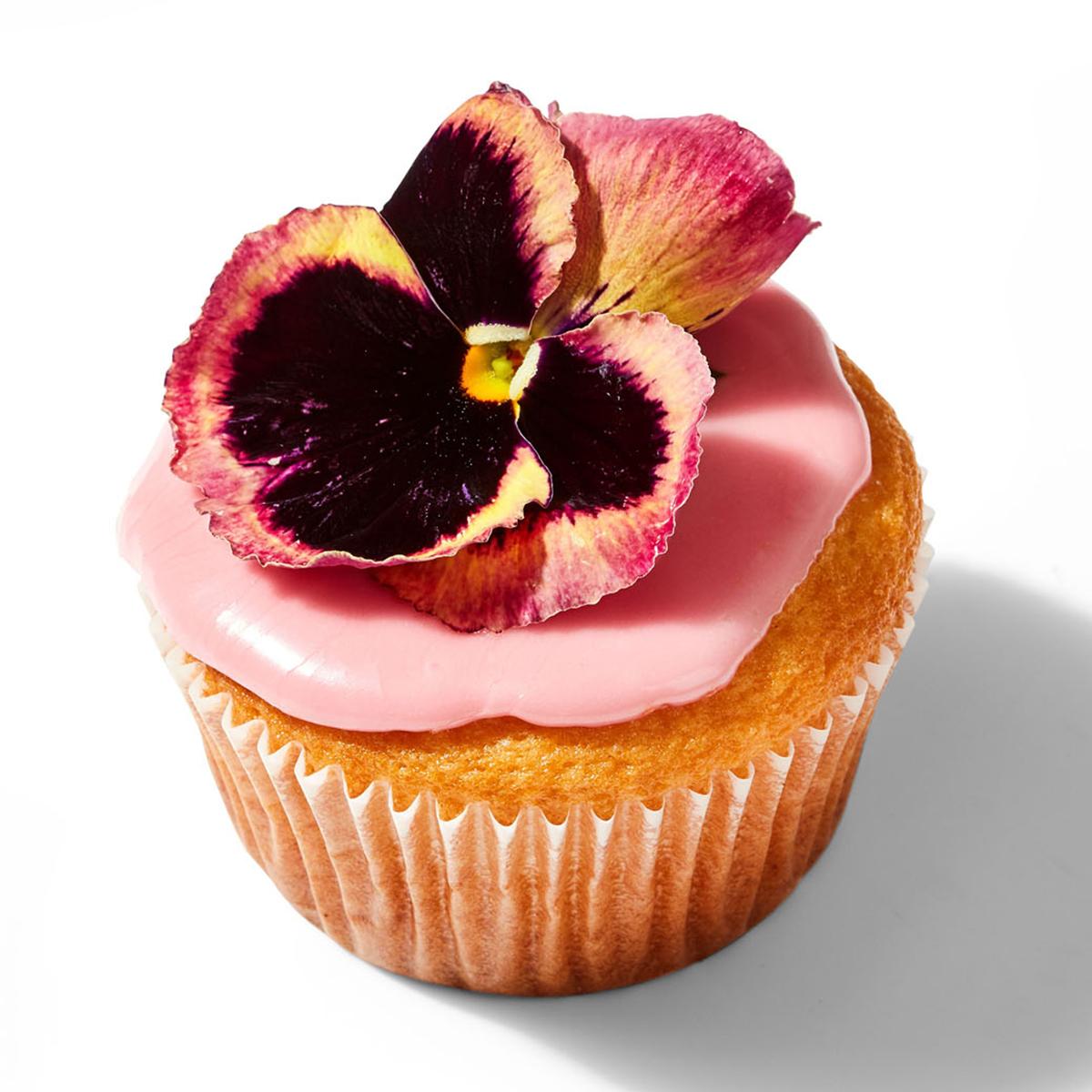 Flower Garden Cupcakes
