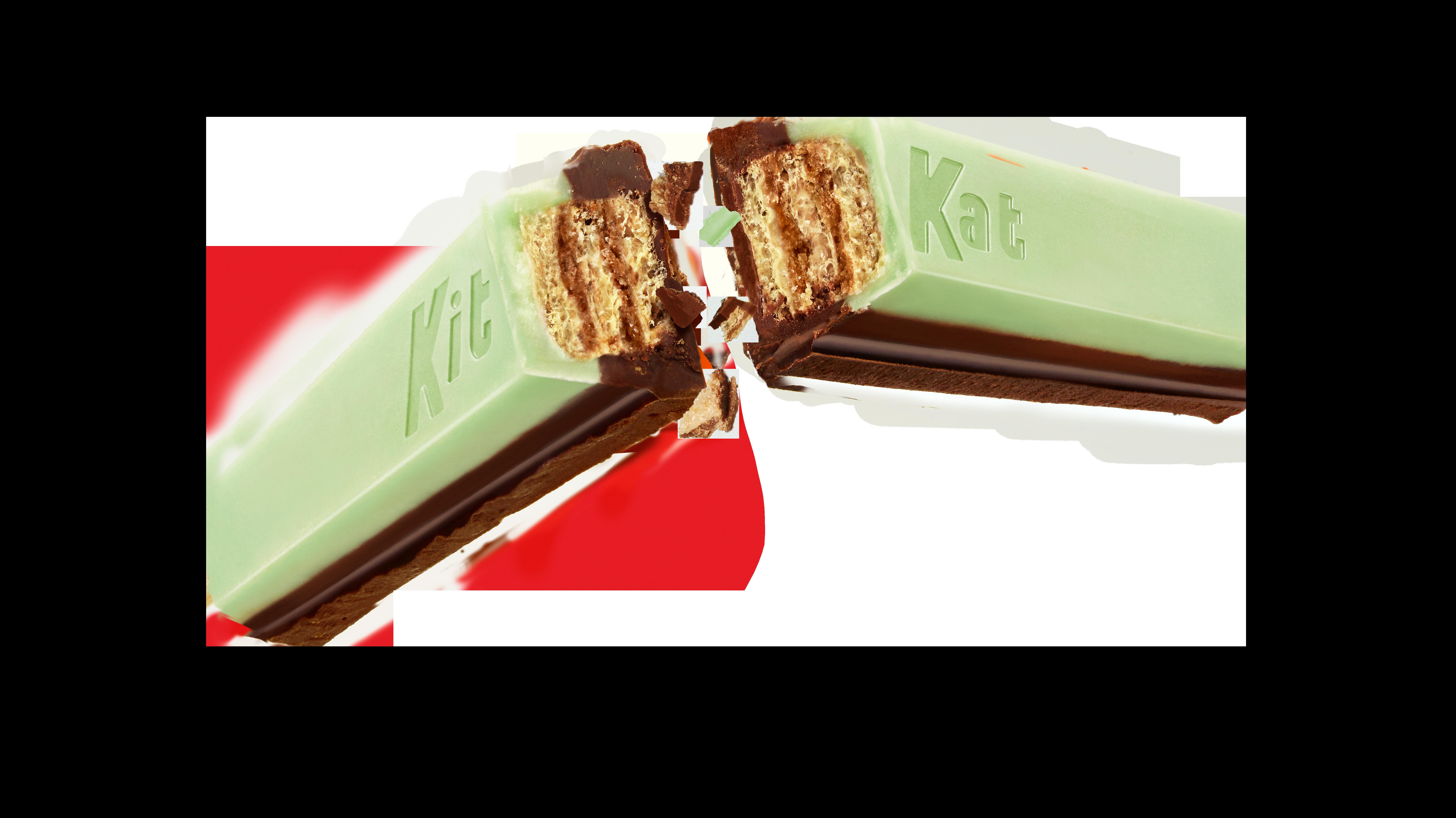 KIT KAT Duos Mint + Dark Chocolate Break