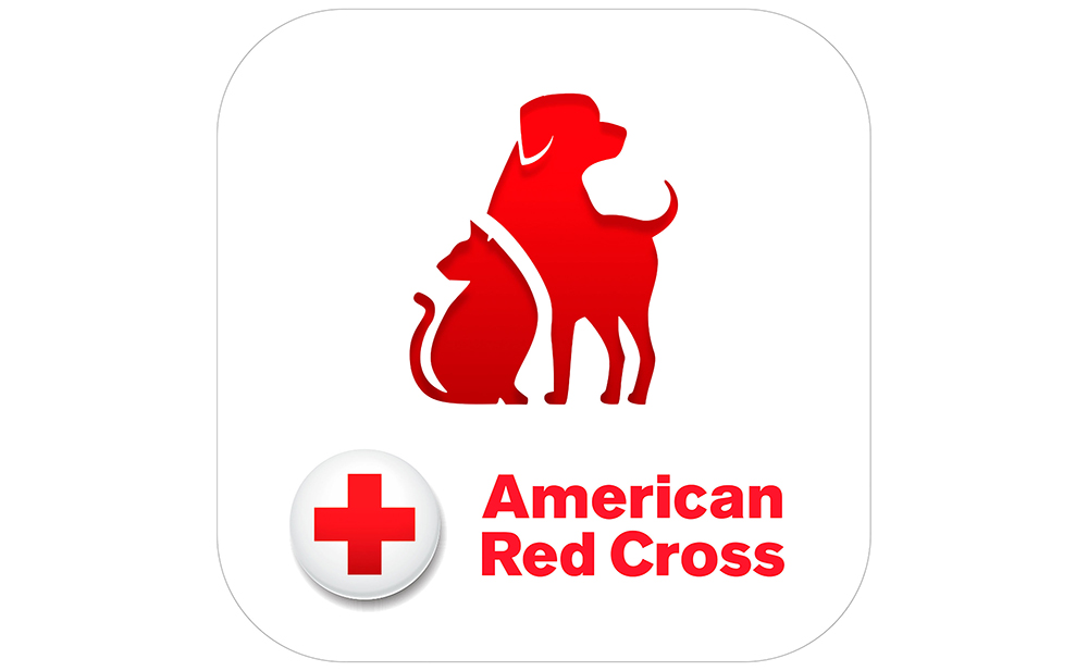 american red cross pet first aid app icon