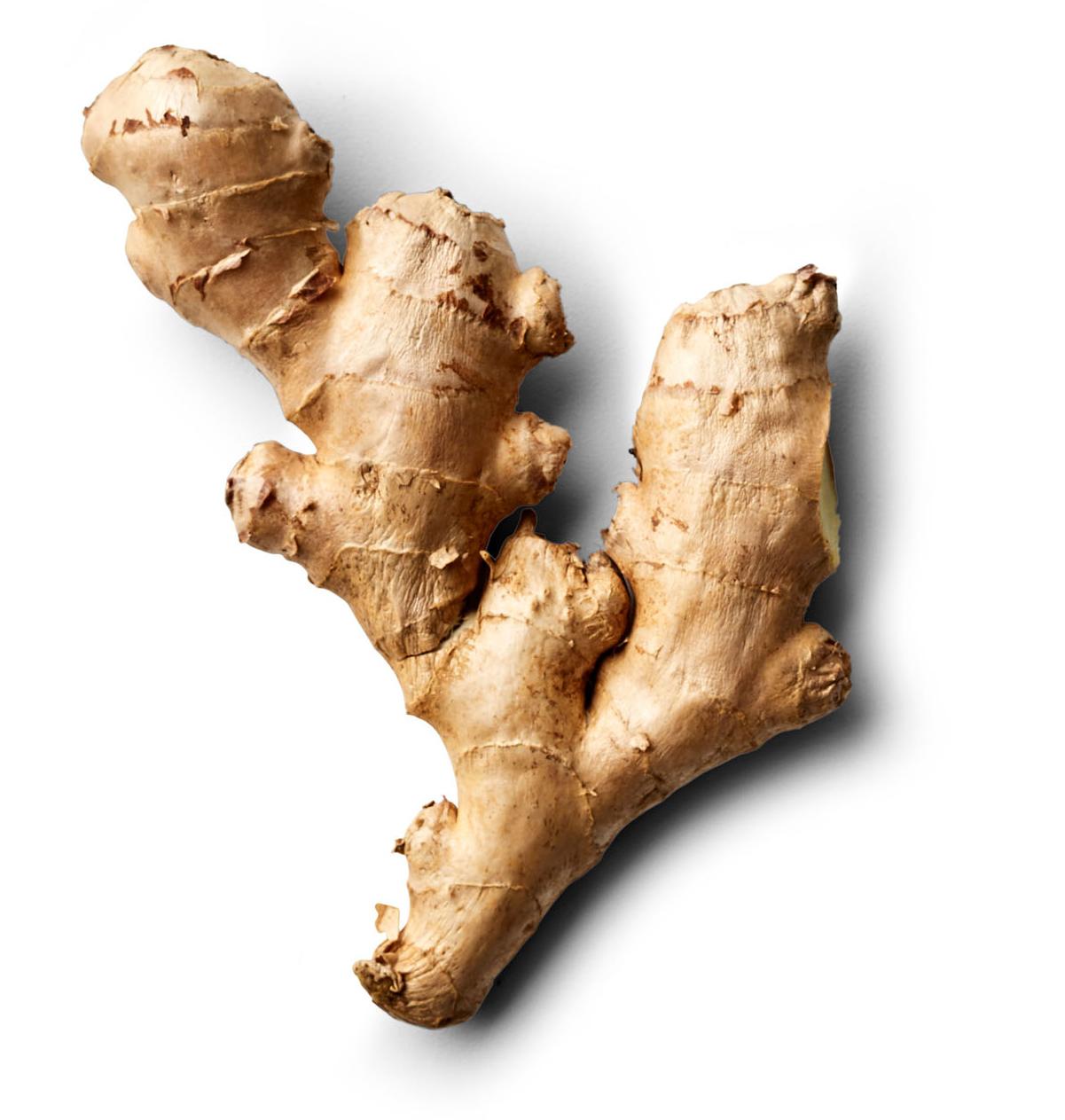 fresh ginger piece