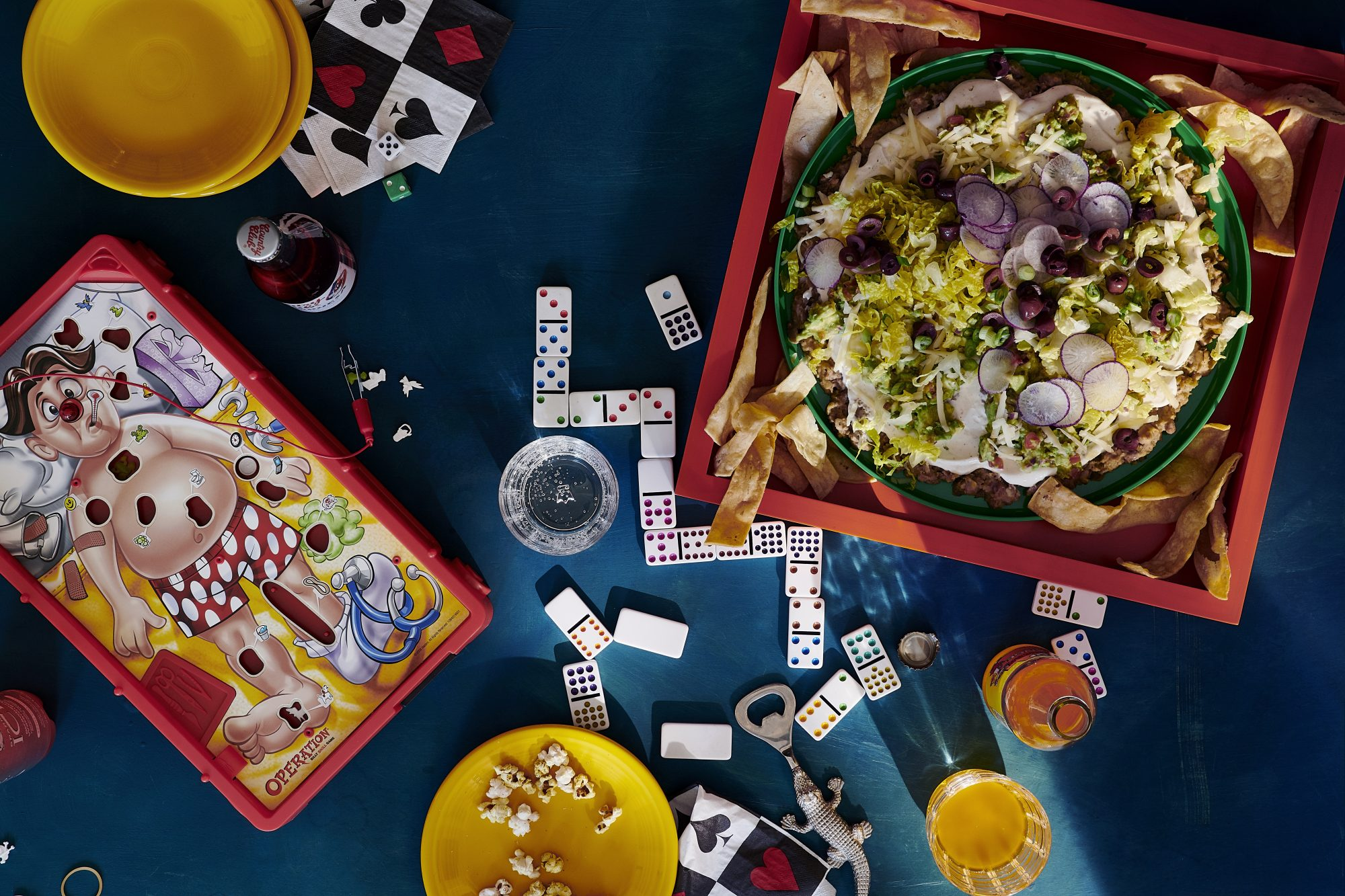 David Burtka's seven-layer dip recipe from his cookbook Life Is a Party