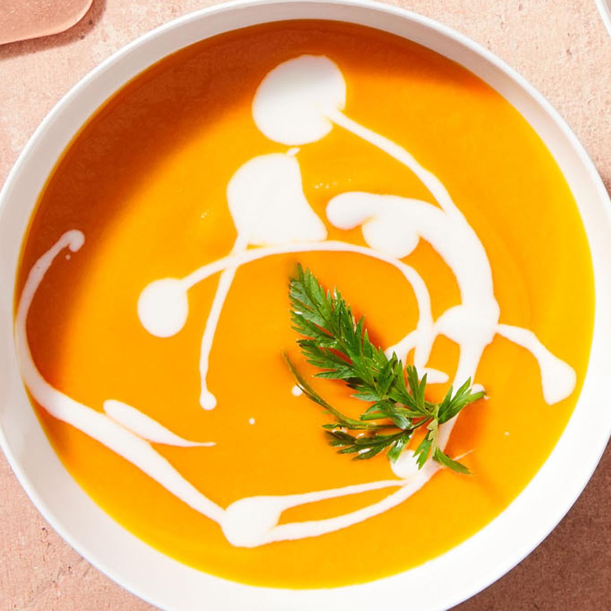 Carrot-Lemongrass Bisque