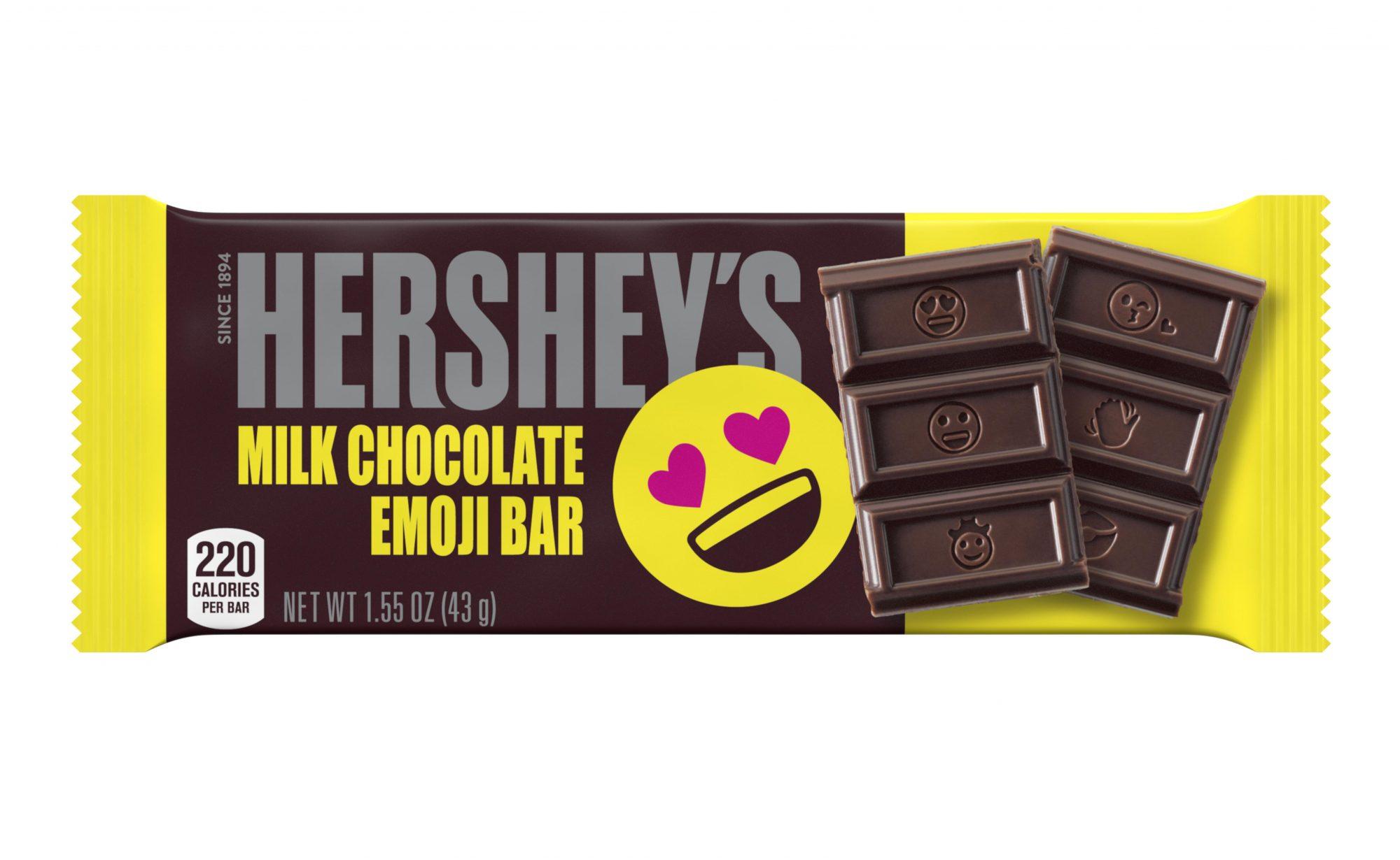 Hershey's Emoji Bar (Wrapped)