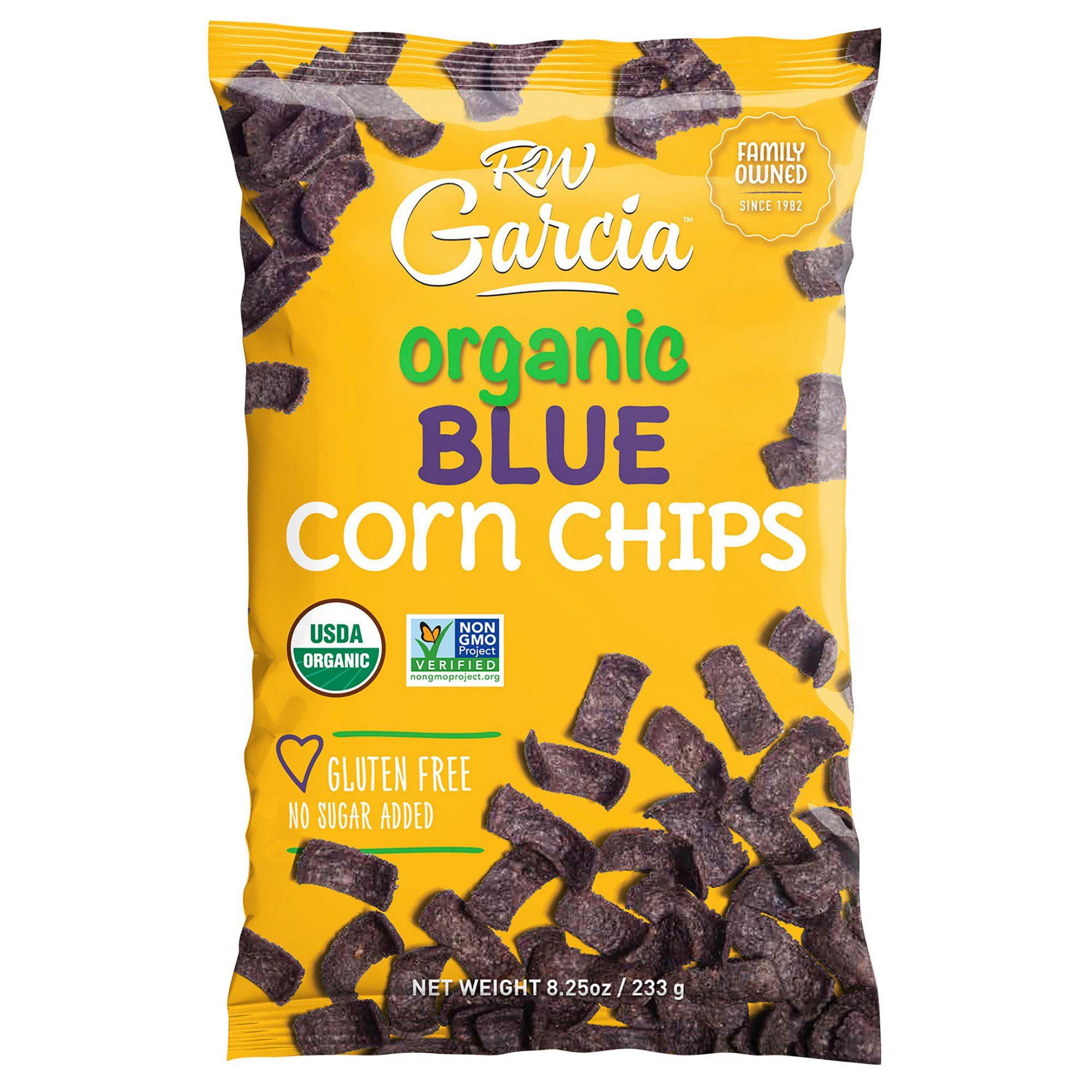rw garcia organic blue corn chips