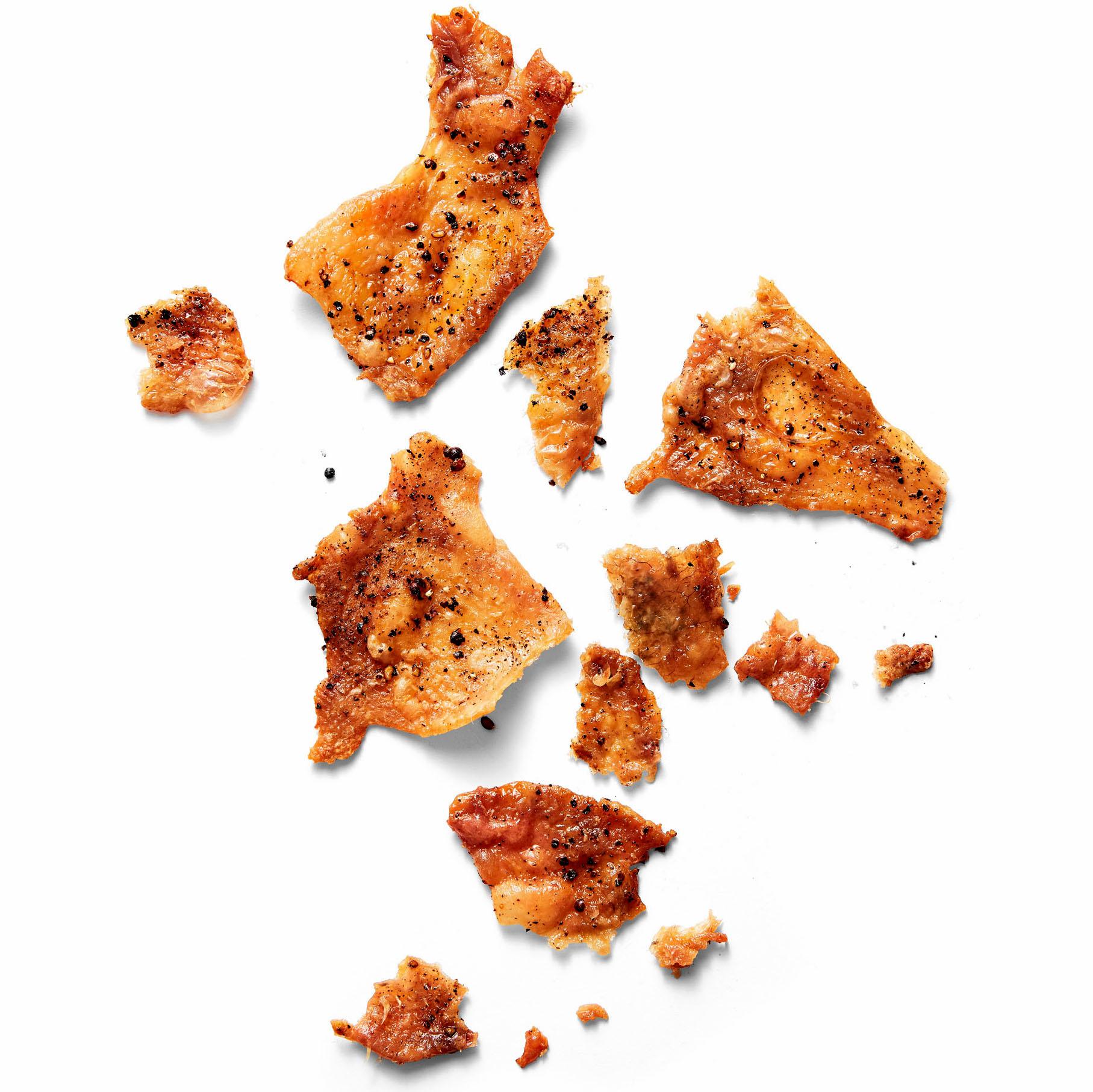 seasoned chicken skin chickarrones