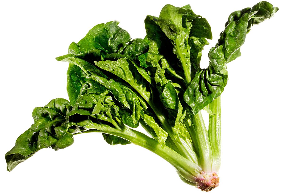 dark leafy green with b vitamin