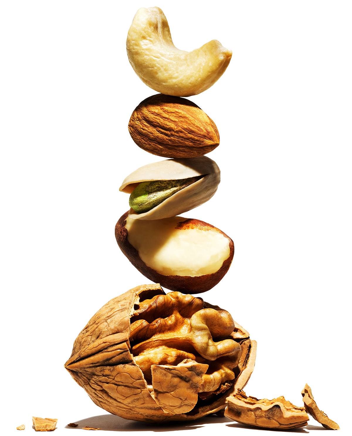 tower of nuts