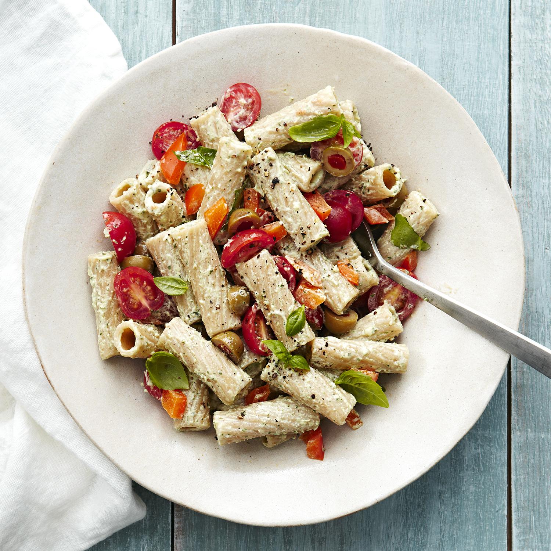 enlightened pasta salad