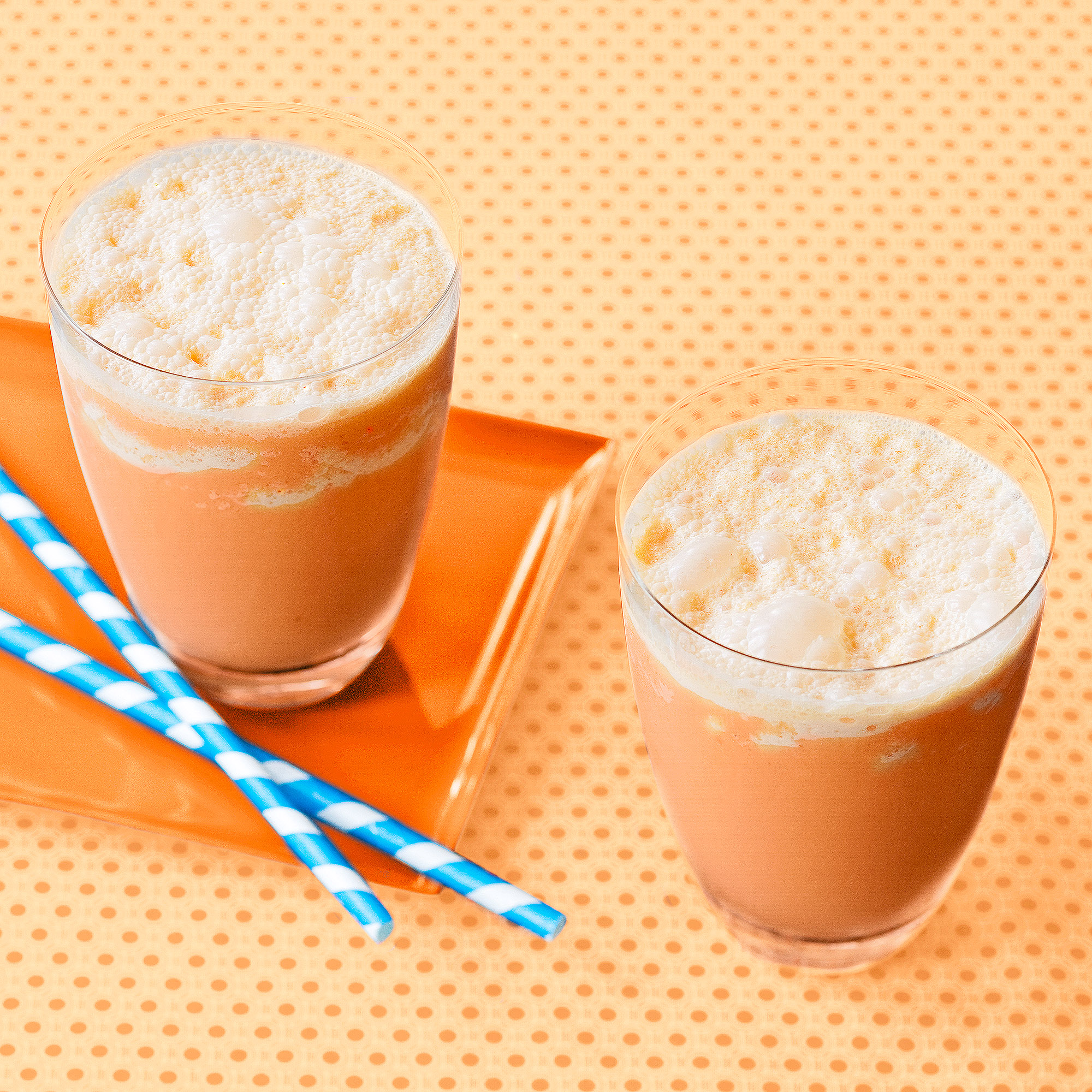 Carrot-Apple-Ginger Smoothies