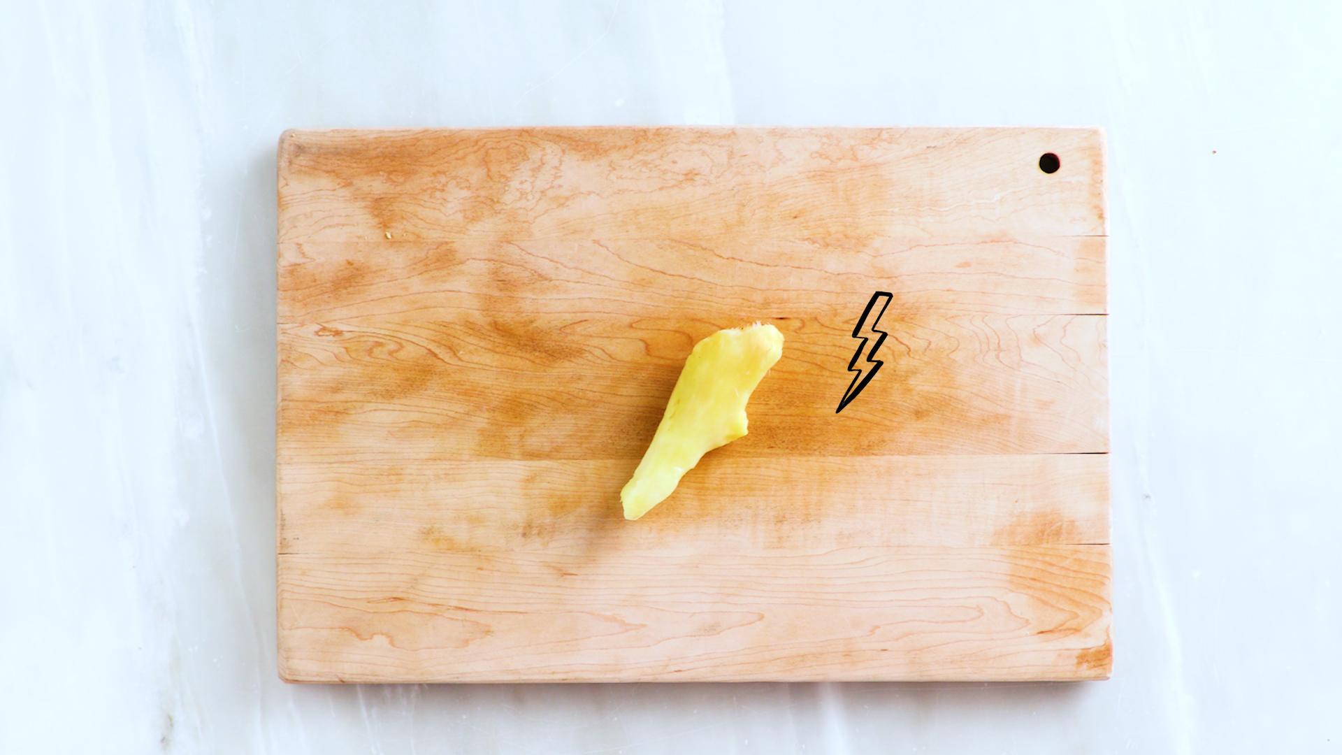 How to Peel Ginger STILL
