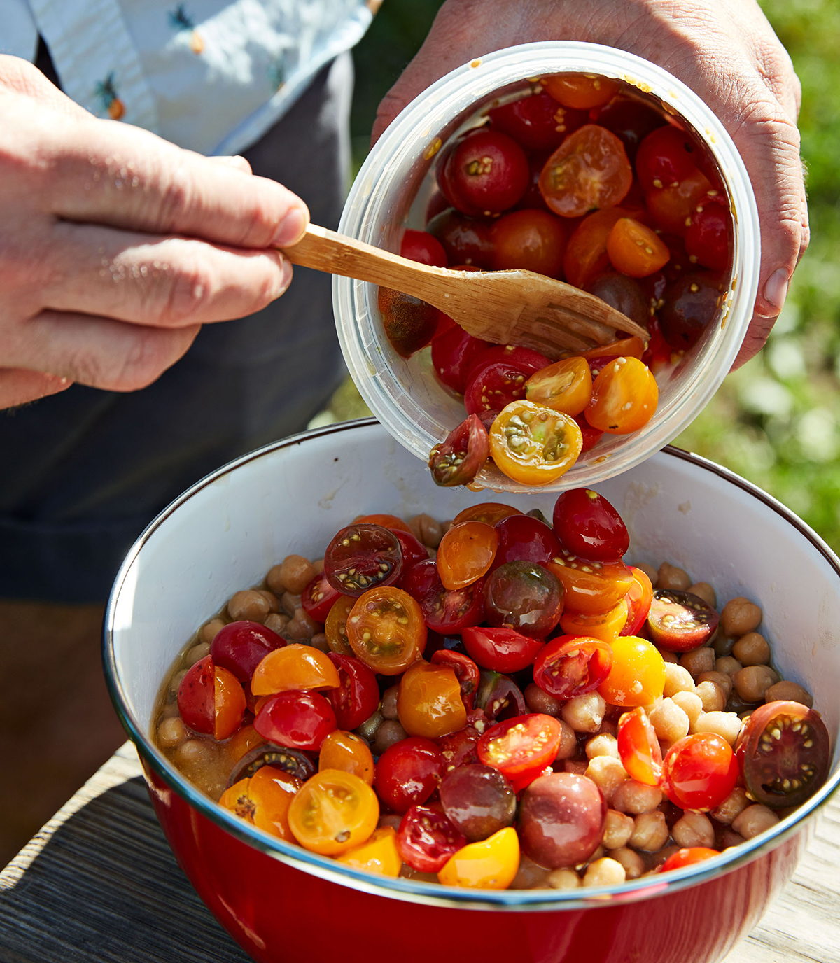 Chickpeas with Baharat, Tomatoes & Brown Butter Recipe