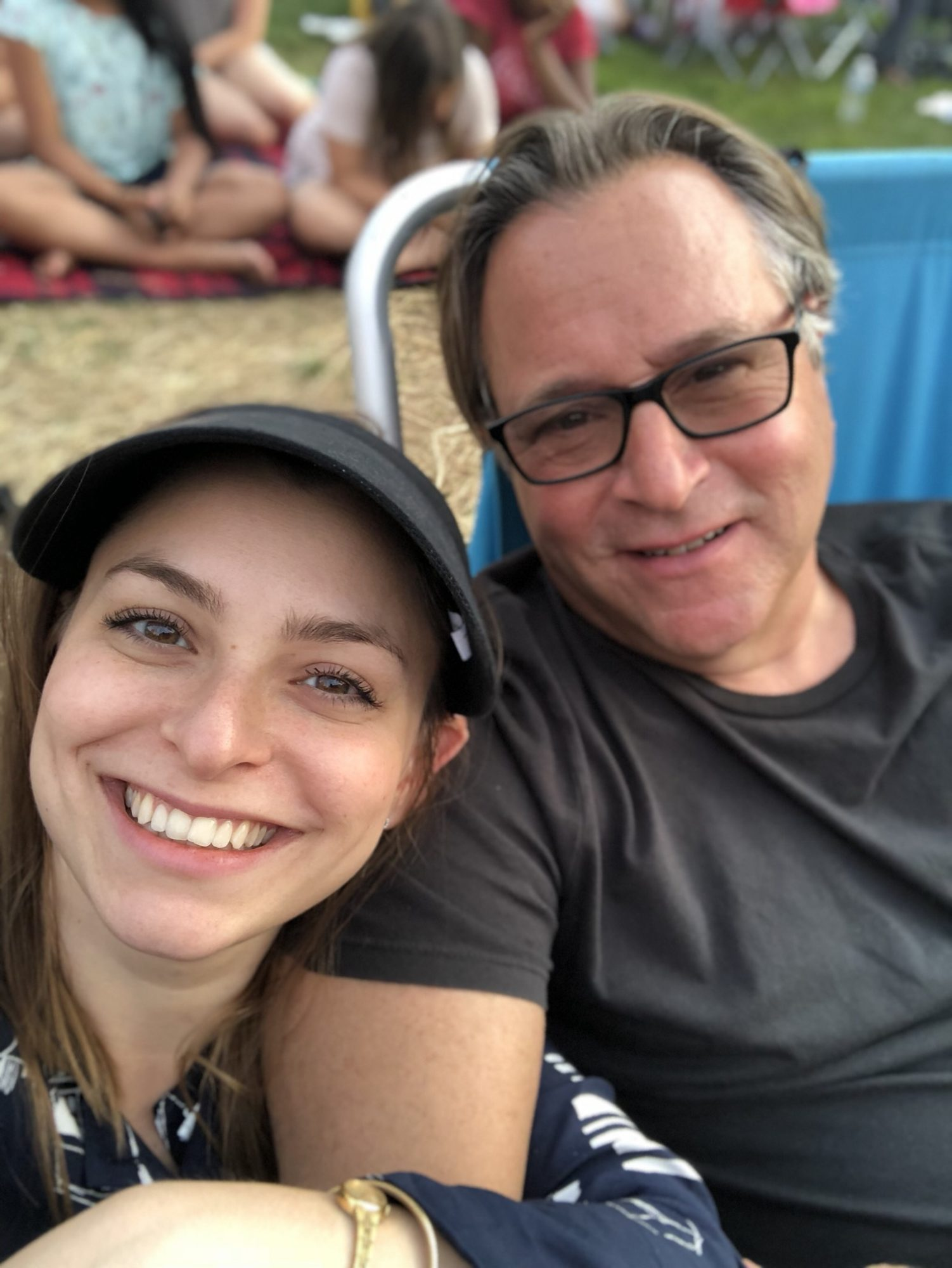 Aliza and dad