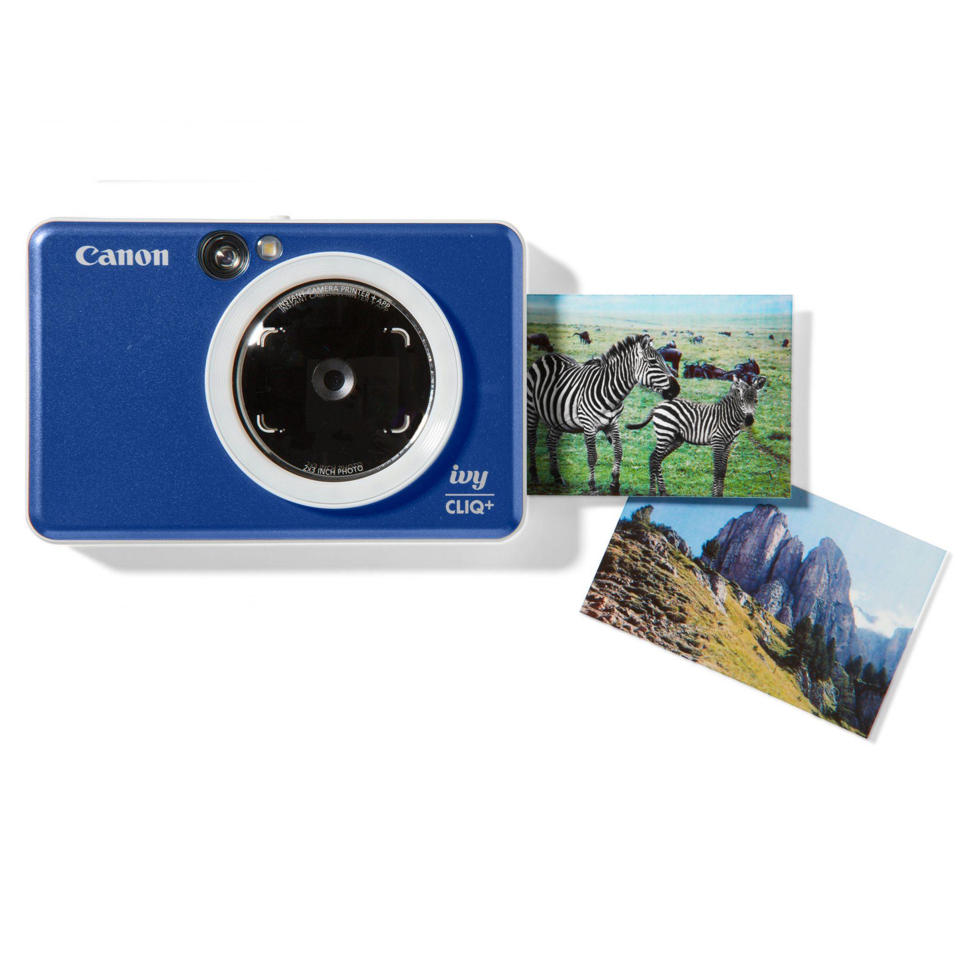 blue camera and photos