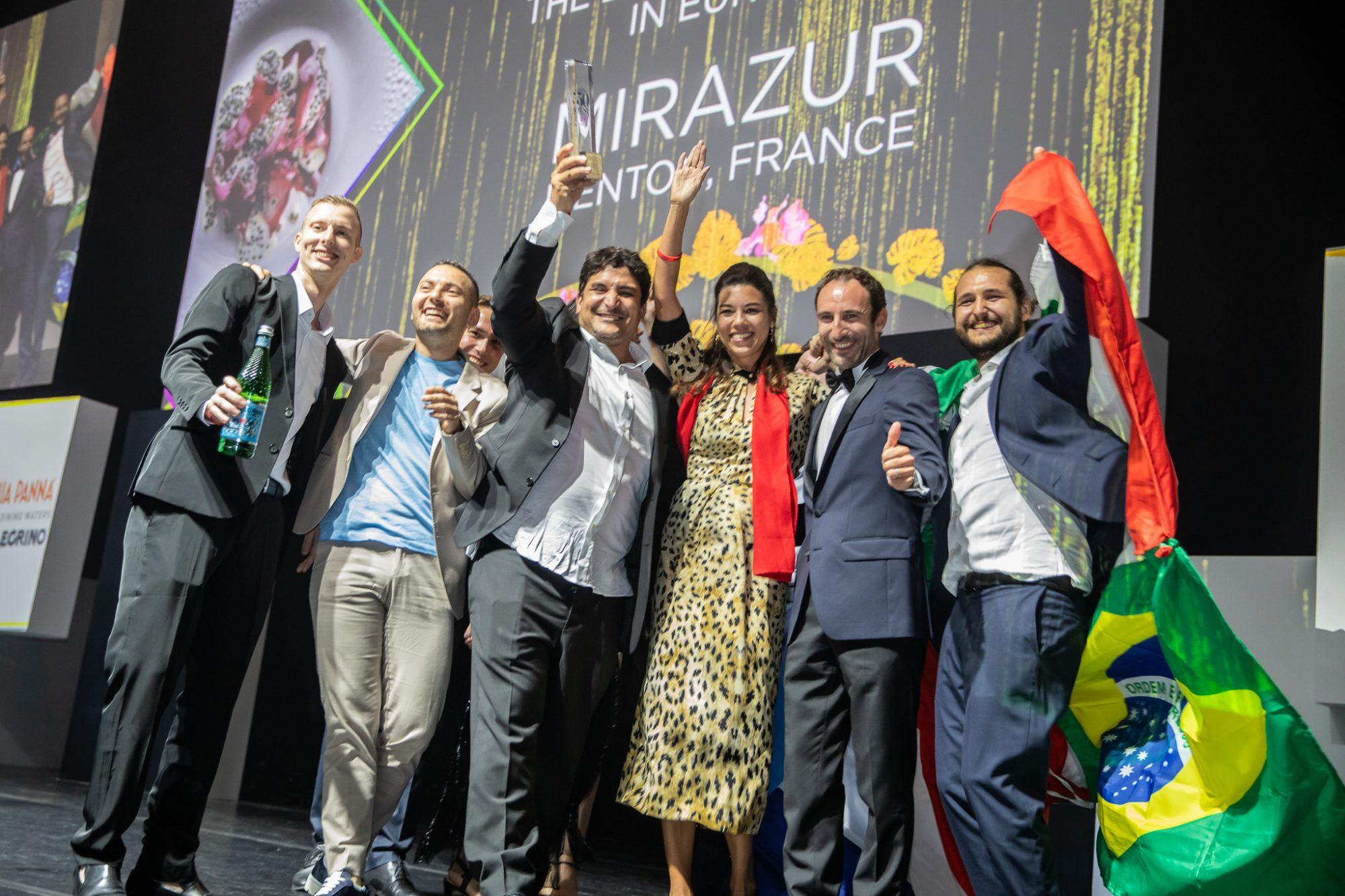 The team behind Mirazur, voted The World's Best Restaurant 2019, sponsored by S.Pellegrino & Acqua Panna