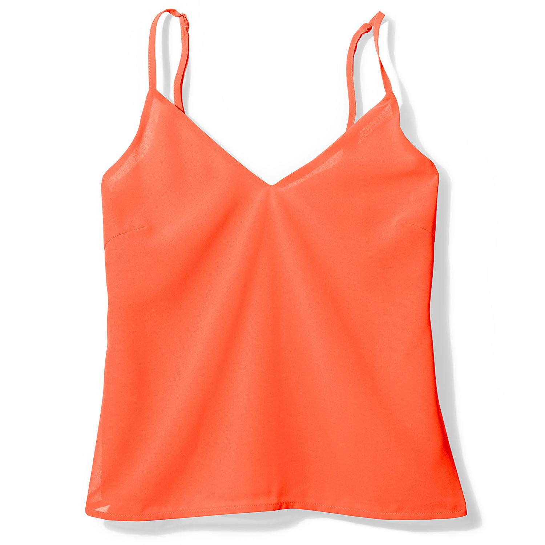Re:Named neon orange Slip Tank