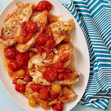 Cherry Tomato Chicken