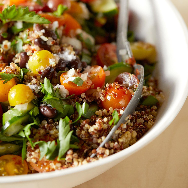 ziggy marleys summer quinoa salad