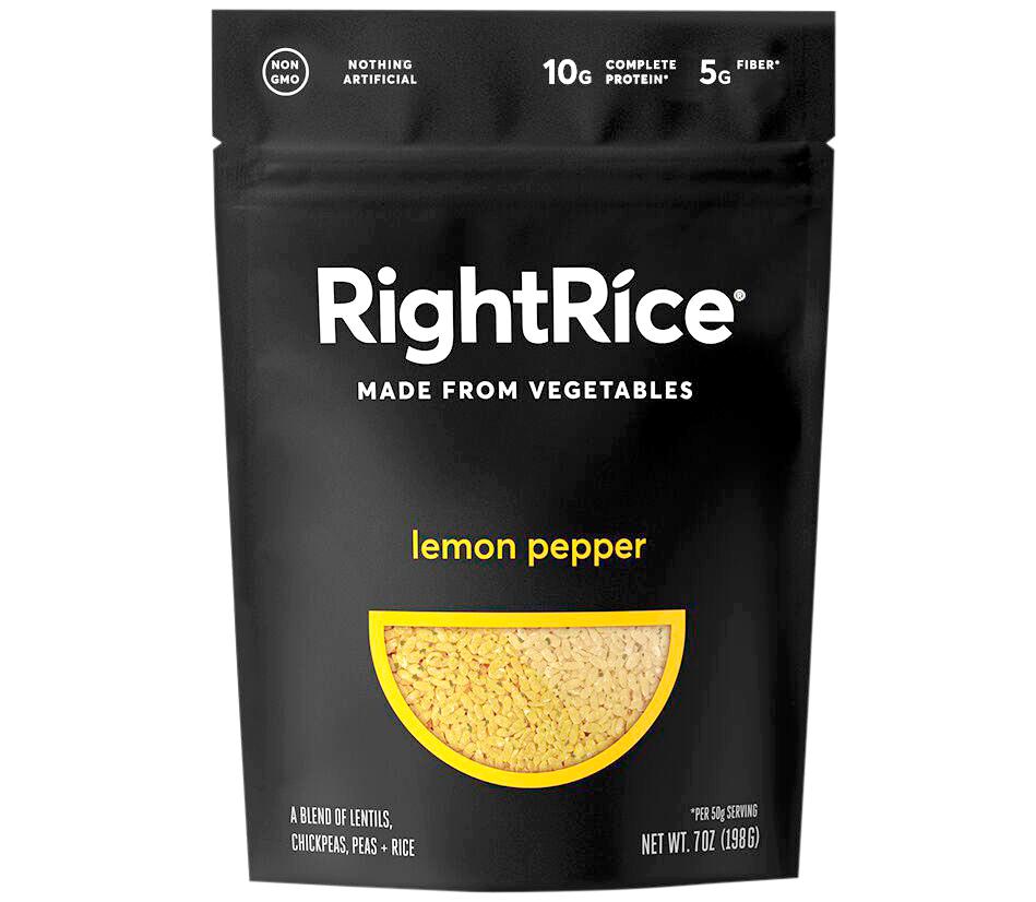 lemon pepper rightrice made from vegetables