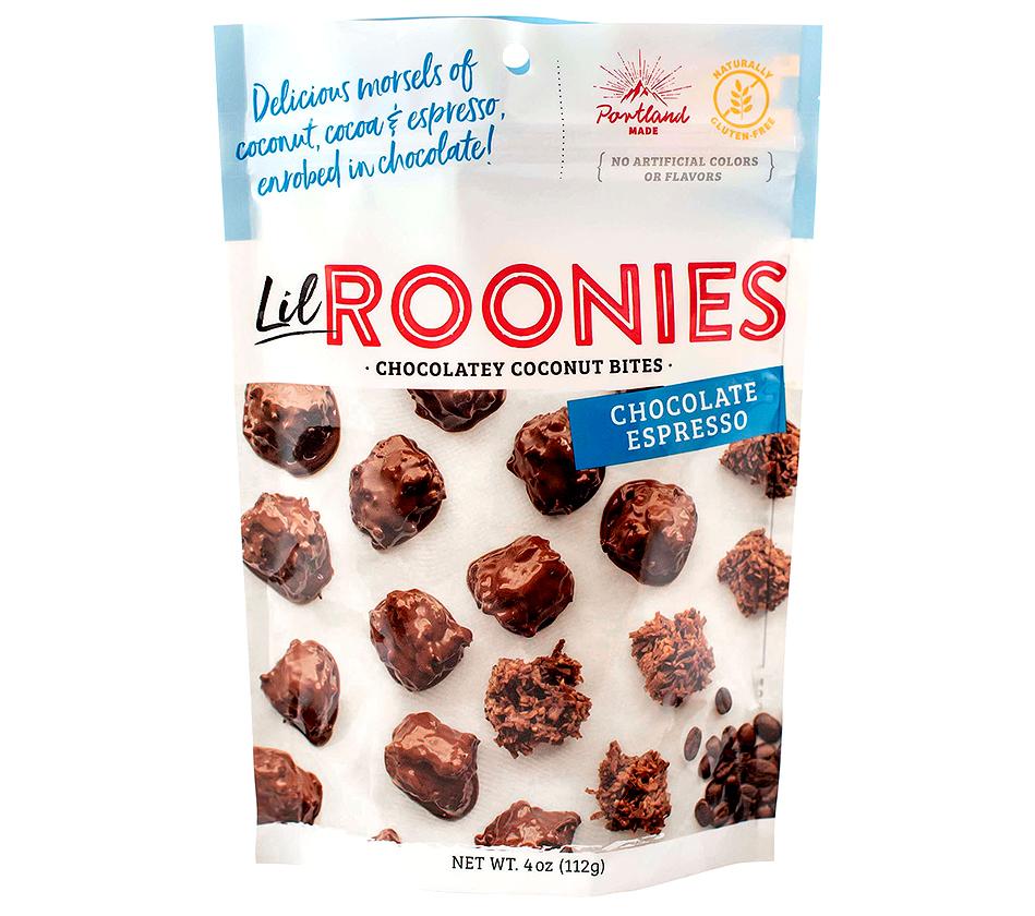 lil roonies chocolately coconut bites