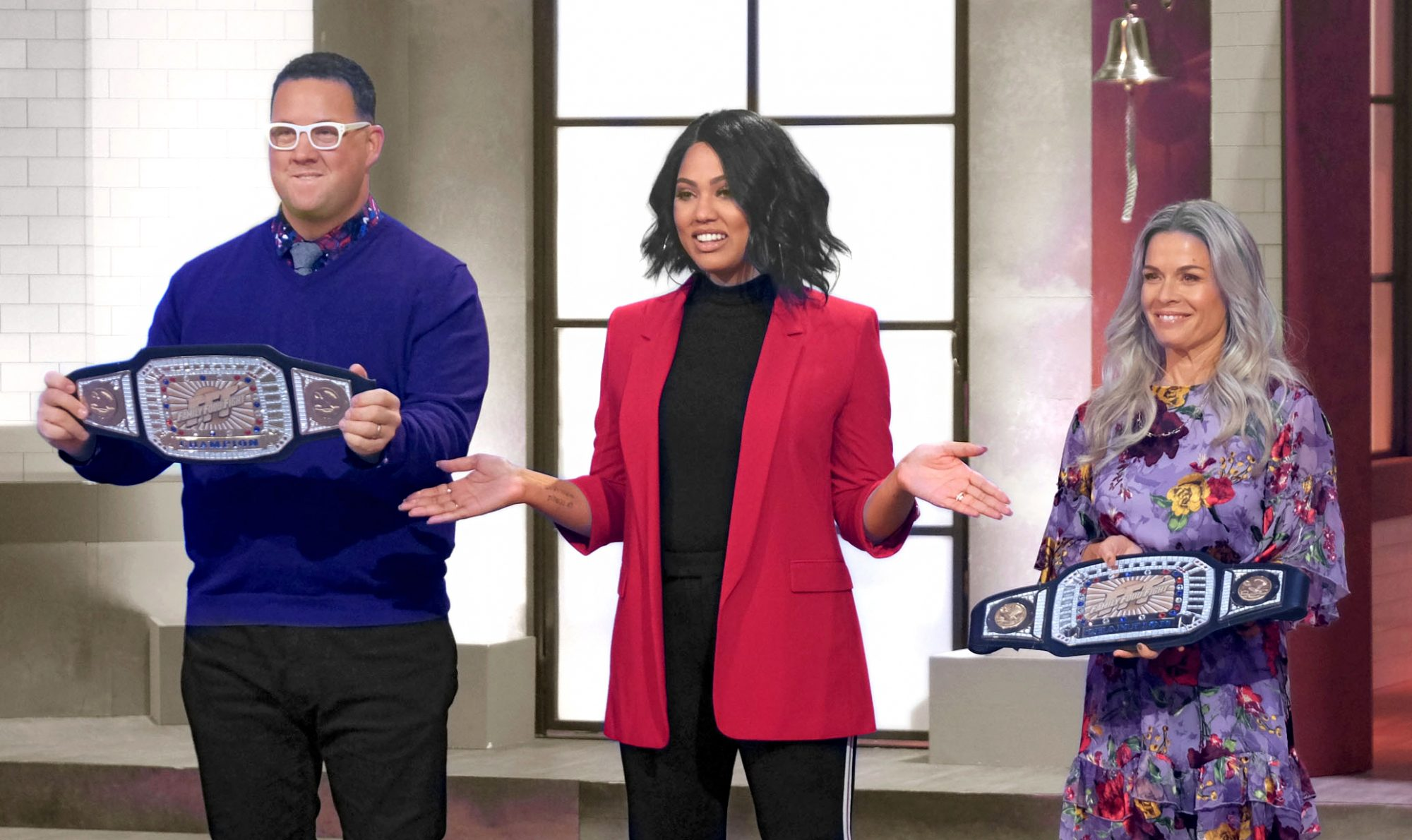 ayesha curry on family food fight show