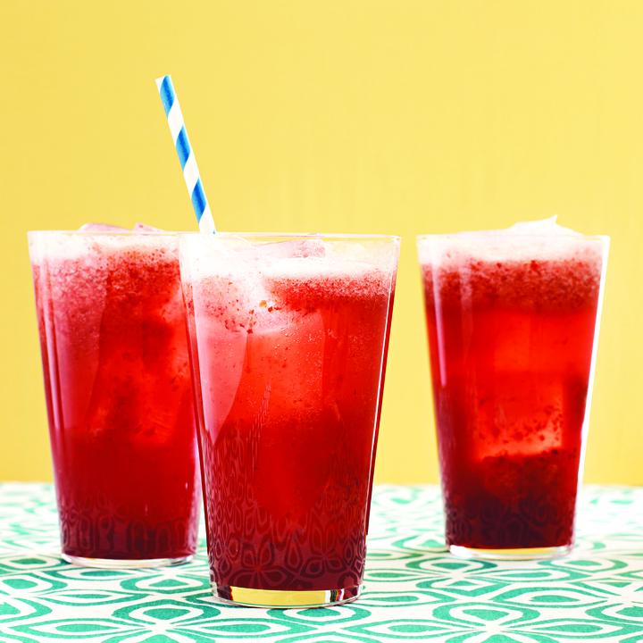 Cherry-Almond Sodas