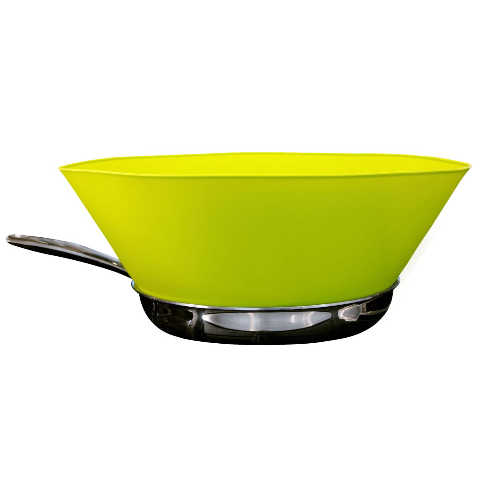 green funnel skillet