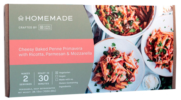 local crate homemade pasta meal kit